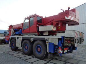 dźwig faun 60 ton na sprzedaż